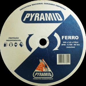 DISCO DE CORTE PARA FERRO 12'' (300MM)