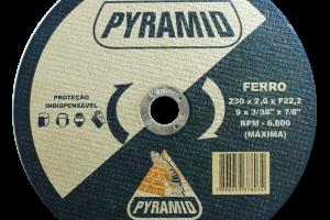 DISCO DE CORTE PARA FERRO 9'' (230MM)
