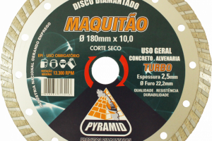 Maquitão 180mm Turbo