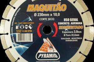 Maquitão 230mm Segmentado
