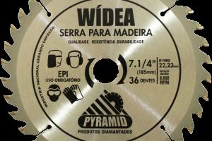 Wídea 7 1/4'' 36 DENTES (185MM)