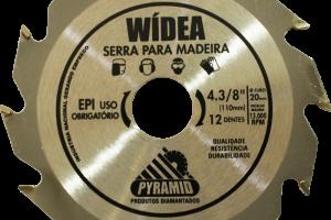 WÍDEA 4 3/8'' 12 DENTES (110MM)