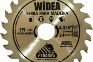 WÍDEA 4 3/8'' 24 DENTES (110MM)