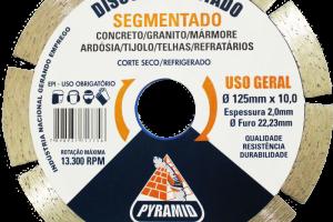 DISCO SEGMENTADO 125MM