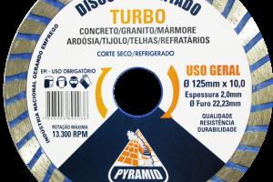 DISCO TURBO 125MM