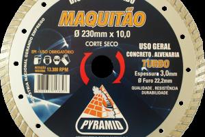 MAQUITÃO 230MM TURBO