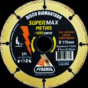 SUPERMAX METAIS 115X1,4MM