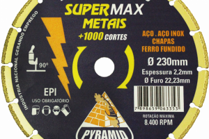 SUPERMAX METAIS 230X2,2MM