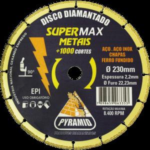 SUPERMAX METAIS 230X2,2MM
